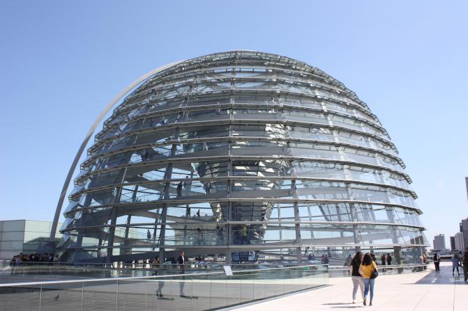 Bundestags-Kuppel